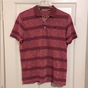 Burberry Brit Men's Polo Shirt Sz M Nova Check